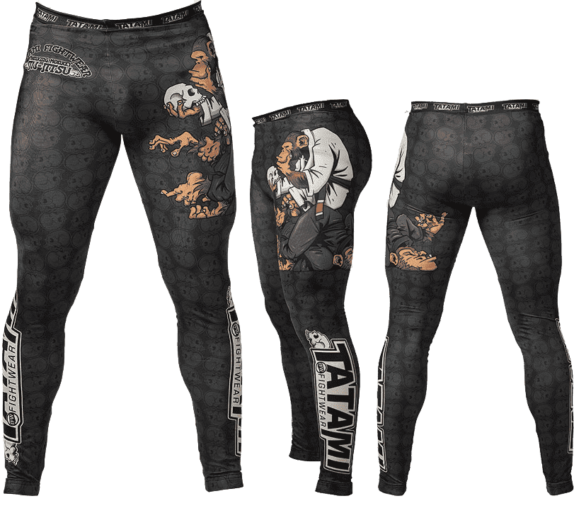 Легинсы Tatami Fightwear Thinker Monkey копия (M)