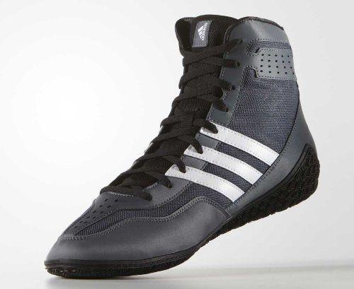 8f4d26222c4389 Борцовки Adidas Mat Wizard 3 серые с белым - купить по хорошей цене ...