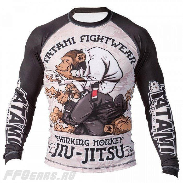 Рашгард Tatami Fightwear Thinker Monkey копия (S)
