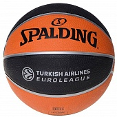 Мяч баскетбольный Spalding TF-150 Turkish Airlines Euroleague (5)